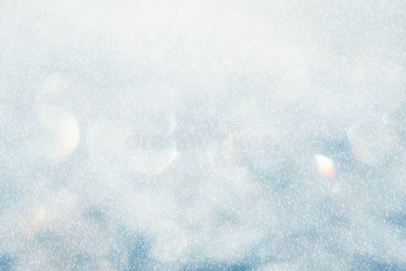 Fundo abstrato azul congelado imagens de stock royalty free