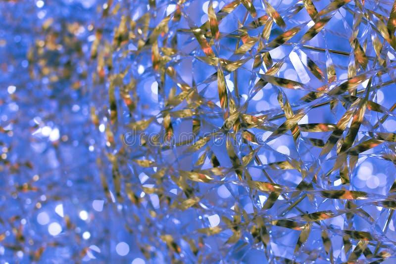 Fundo abstrato azul do Aqua Textura Bokeh fotografia de stock royalty free