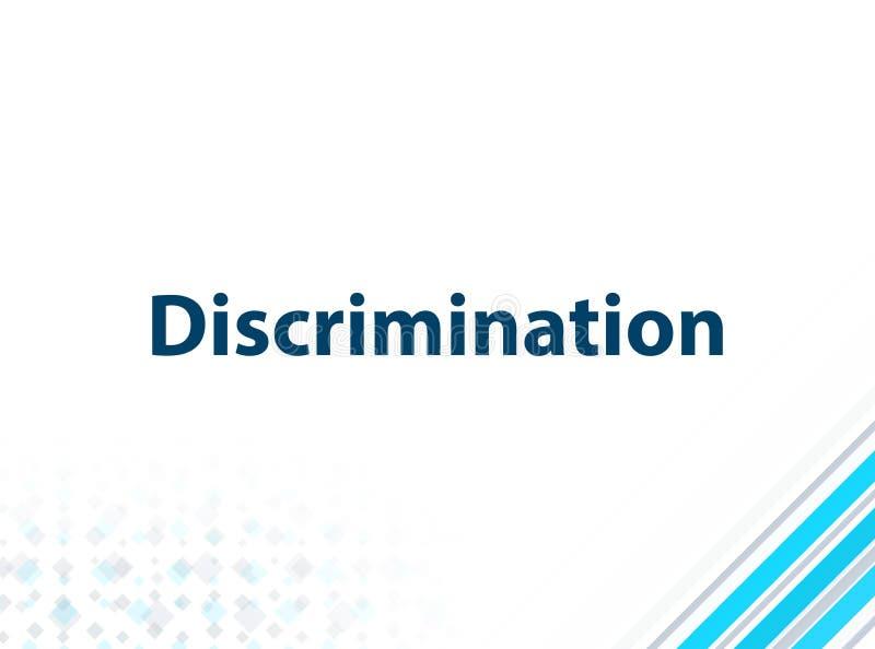 Fundo abstrato azul do projeto liso moderno da discriminação ilustração do vetor