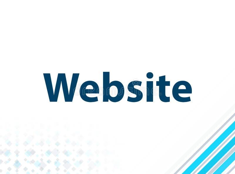 Fundo abstrato azul do projeto liso moderno do Web site ilustração royalty free