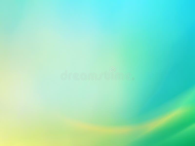 Fundo abstrato azul esverdeado 2 ilustração stock