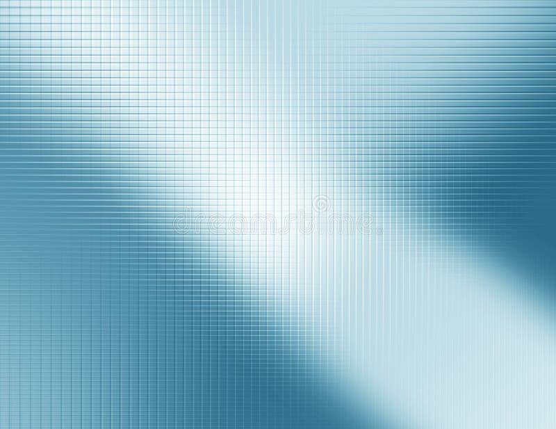 Fundo abstrato azul, malha metálica ilustração do vetor
