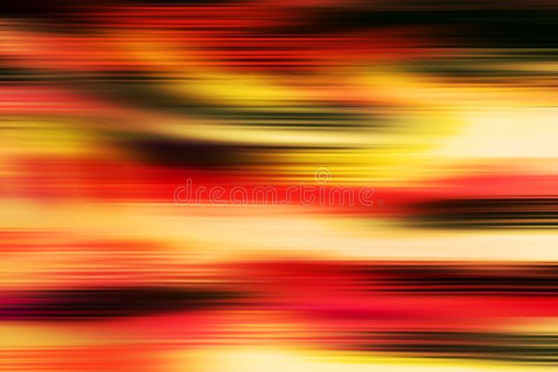 Fundo abstrato borrado vintage do fogo ilustração do vetor