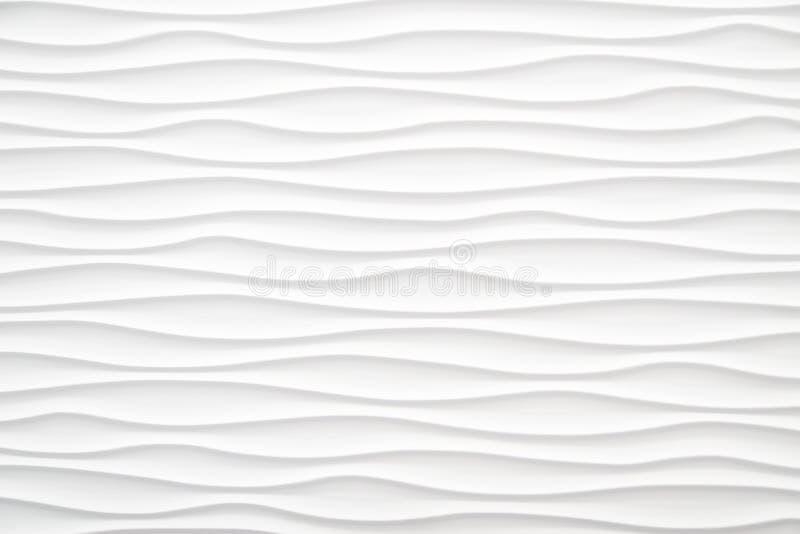 Fundo abstrato branco da onda foto de stock