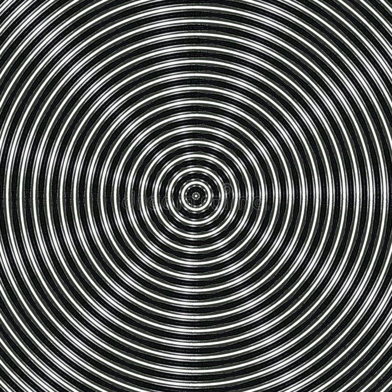 Fundo abstrato circcular do metal preto imagens de stock
