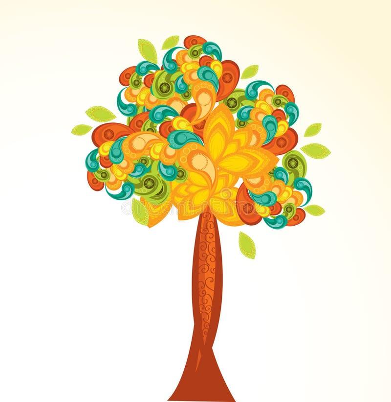 Fundo abstrato colorido ilustração do vetor