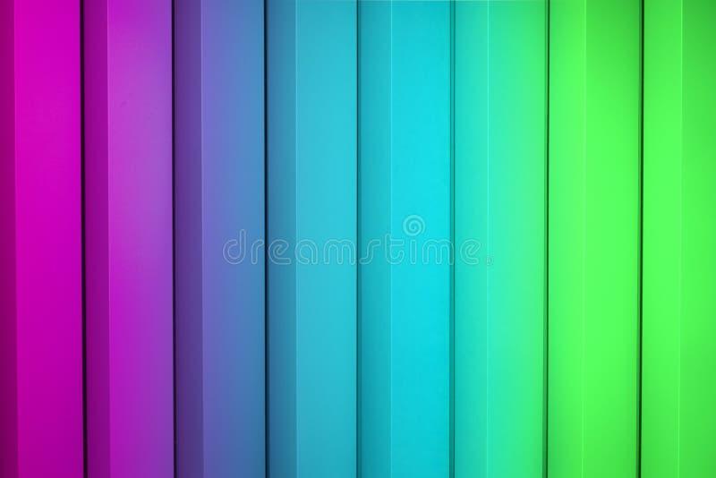 Fundo abstrato colorido arco-íris, textura listrada ilustração royalty free