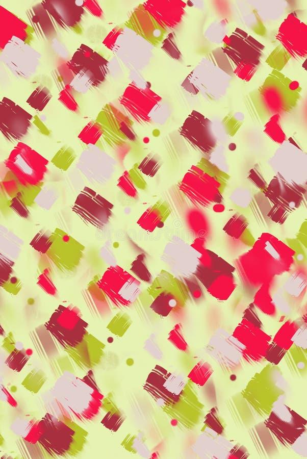 Fundo abstrato colorido do teste padr?o ilustração stock