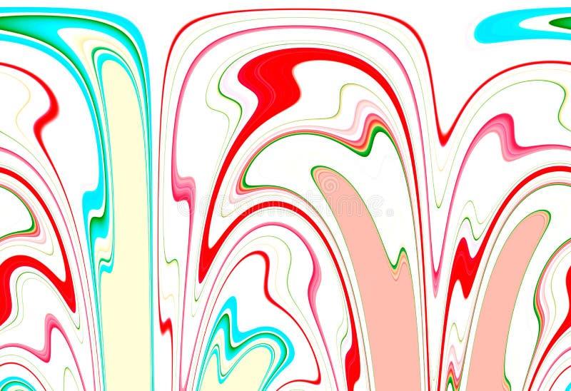 Fundo abstrato colorido e máscaras das formas circulares imagem de stock