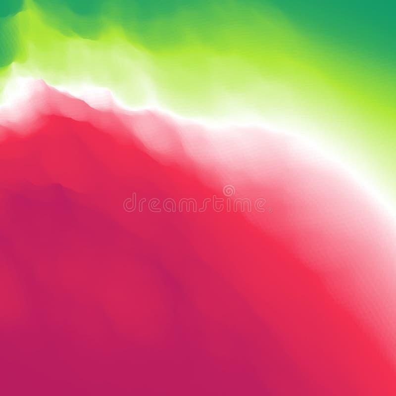 Fundo abstrato colorido Molde do projeto Teste padrão moderno Ilustração do vetor para sua água fresca de design Pode ser usado p ilustração do vetor