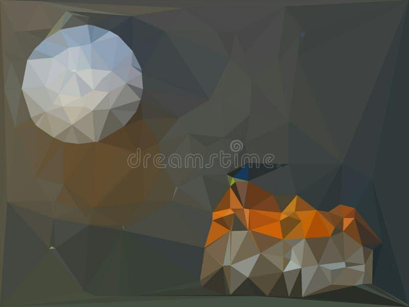 Fundo abstrato colorido para o projeto desktop do papel de parede ou do Web site, molde com espa?o da c?pia para o texto ilustração do vetor