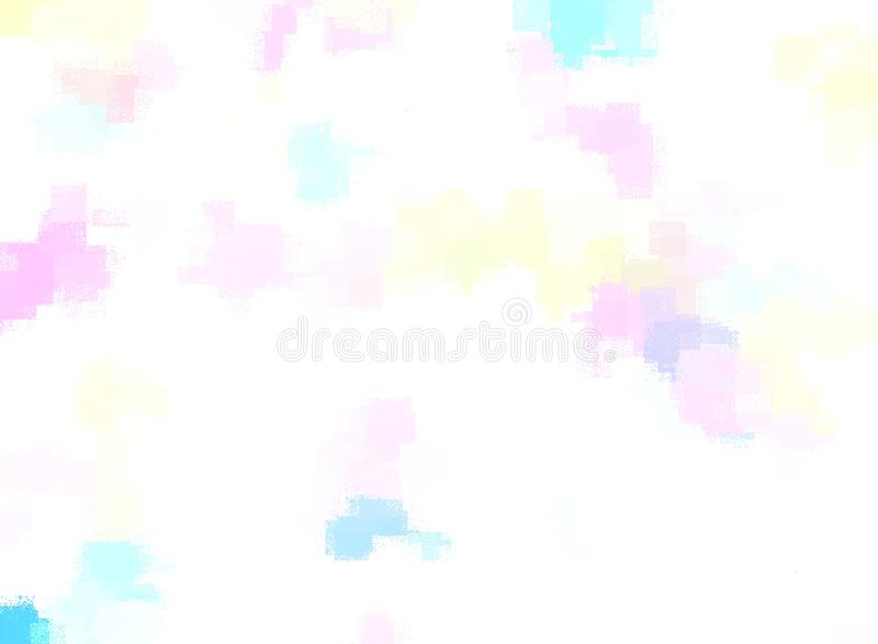 Fundo abstrato colorido para o projeto desktop do papel de parede ou do Web site, molde com espa?o da c?pia para o texto - ilustr ilustração royalty free
