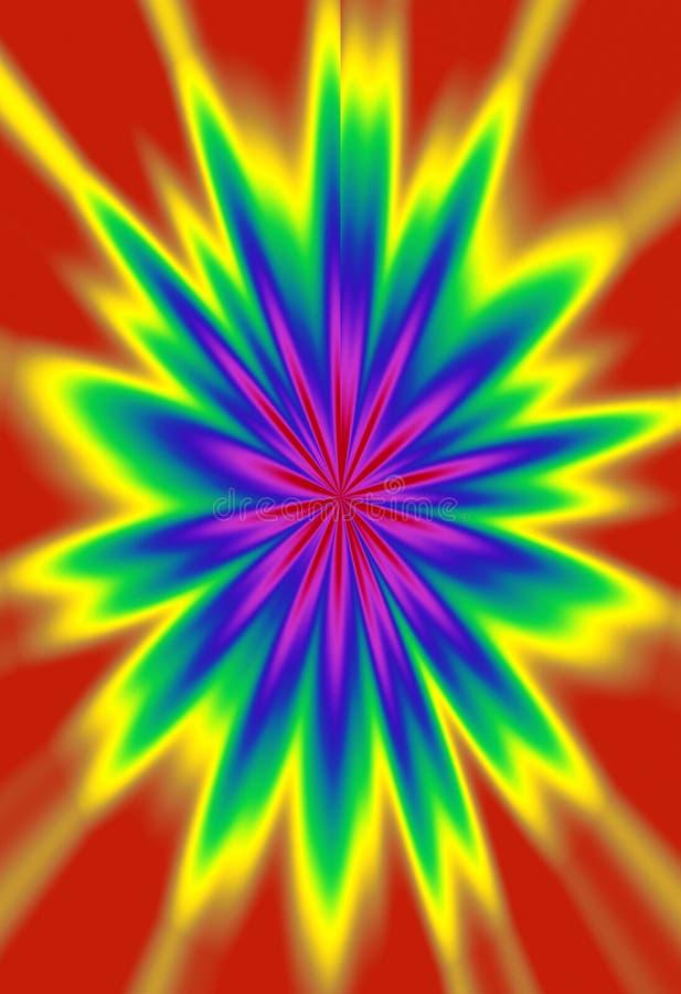 Fundo abstrato colorido vívido criado Digital fotos de stock royalty free