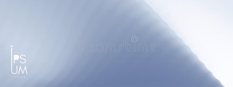 Fundo abstrato com efeito din?mico Cartaz criativo do projeto com inclina??es vibrantes Ilustração do vetor para anunciar, ilustração royalty free