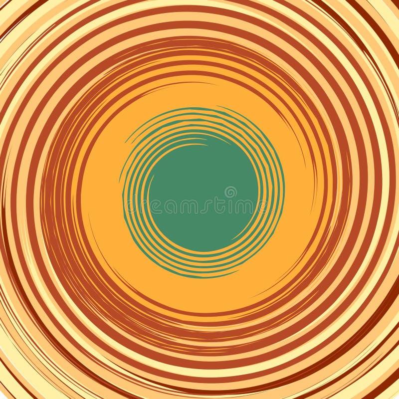 Fundo abstrato com redemoinho Lugar para o seu ilustração stock