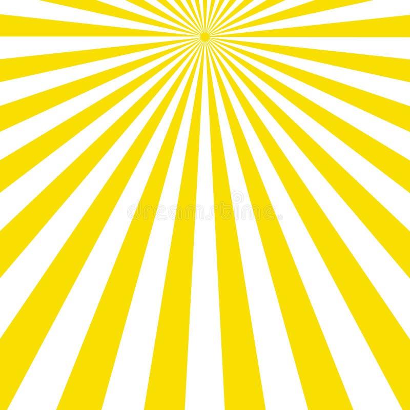 fundo abstrato com teste padrão do raio claro ilustração do vetor