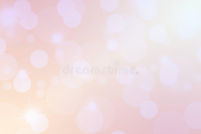 fundo abstrato cor-de-rosa, forma do círculo no fundo cor-de-rosa ilustração do vetor