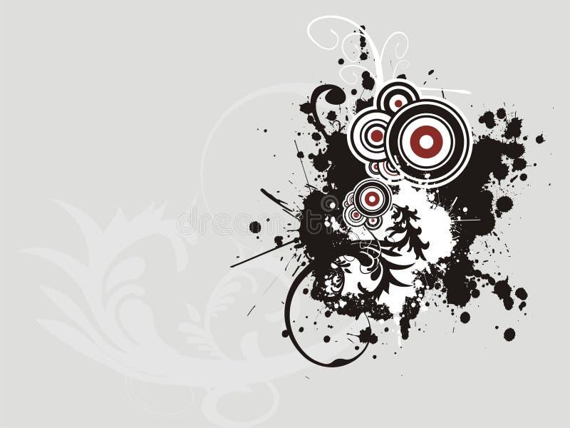 Fundo abstrato creativo ilustração royalty free