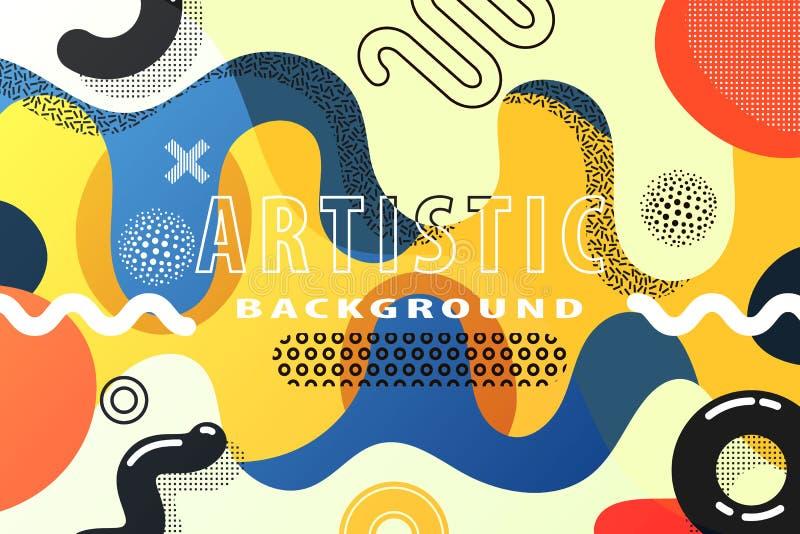 Fundo abstrato criativo ilustração stock