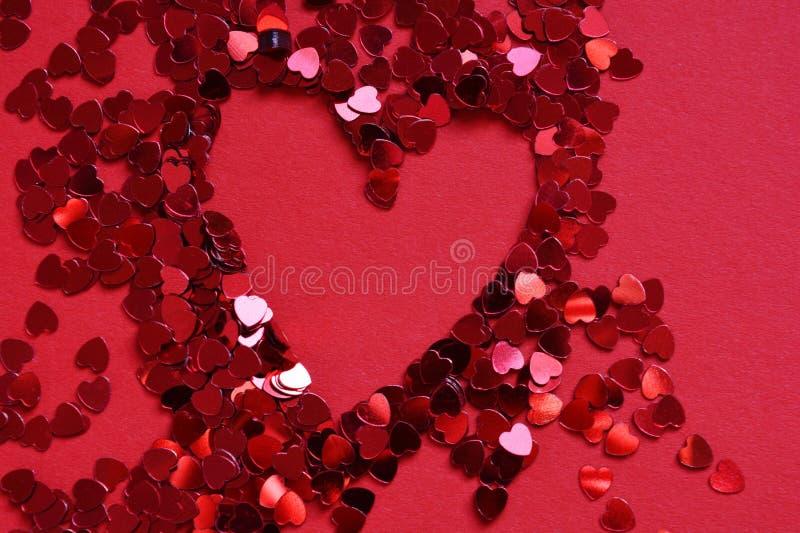 Fundo abstrato criativo, amor e romance imagens de stock