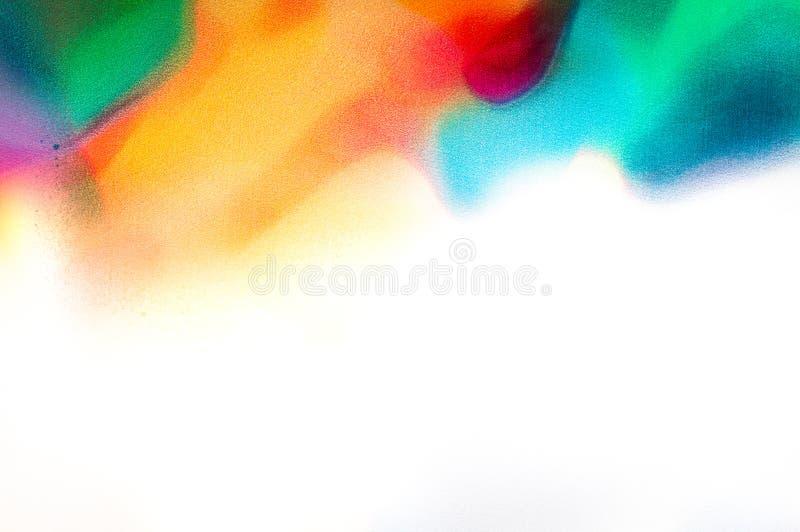 Fundo abstrato da aguarela imagens de stock