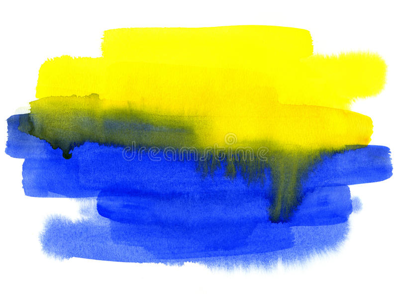 Fundo abstrato da aguarela ilustração stock