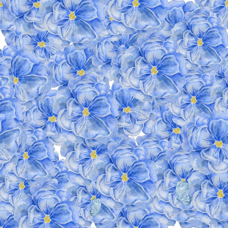 Fundo abstrato da aguarela Mola das flores Design floral para cosméticos, perfume da aquarela, produtos do cuidado da beleza ilustração do vetor