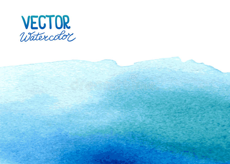 Fundo abstrato da aquarela para seu projeto ilustração stock