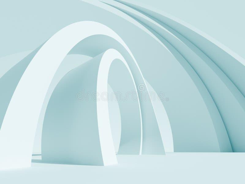 Fundo abstrato da arquitetura ilustração royalty free