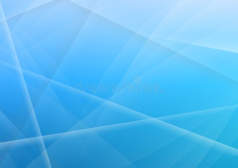 Fundo abstrato da cor azul ilustração stock