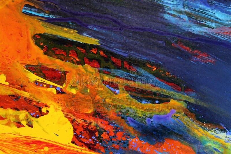 Fundo abstrato da cor da arte imagem de stock royalty free