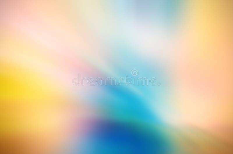 Fundo abstrato da cor de água ilustração royalty free