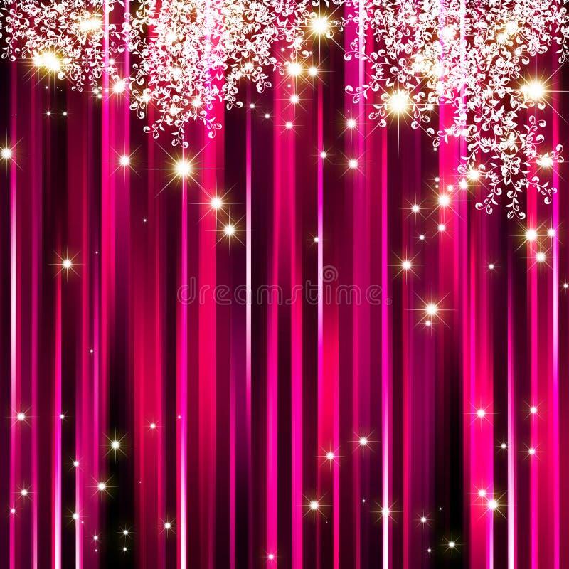 Fundo abstrato da cor-de-rosa da faísca ilustração royalty free