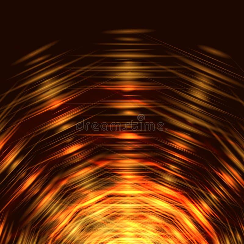 Fundo abstrato da energia ilustração stock