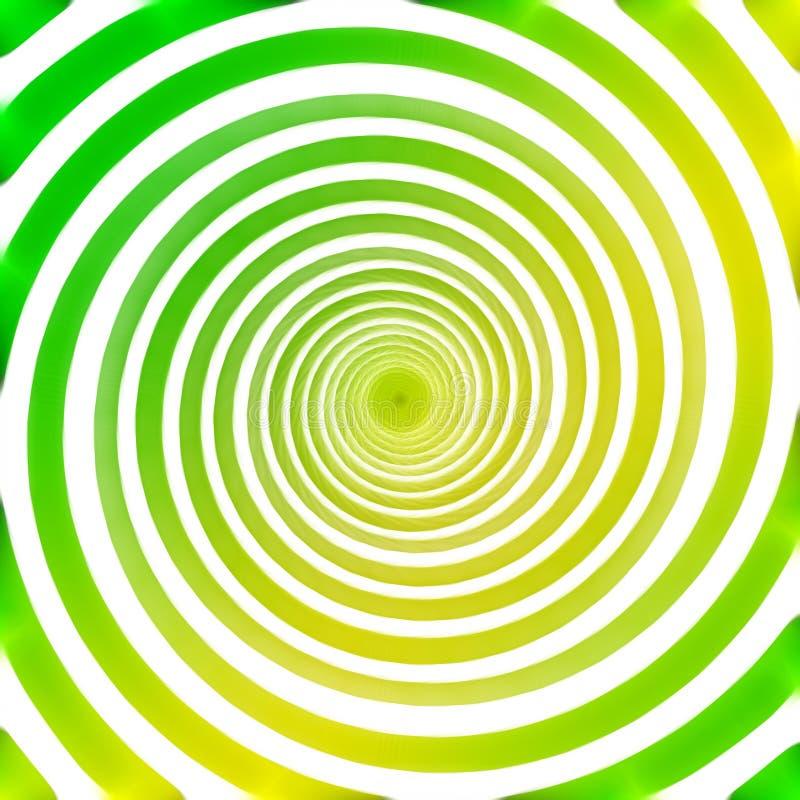 Fundo abstrato da espiral do círculo ilustração stock