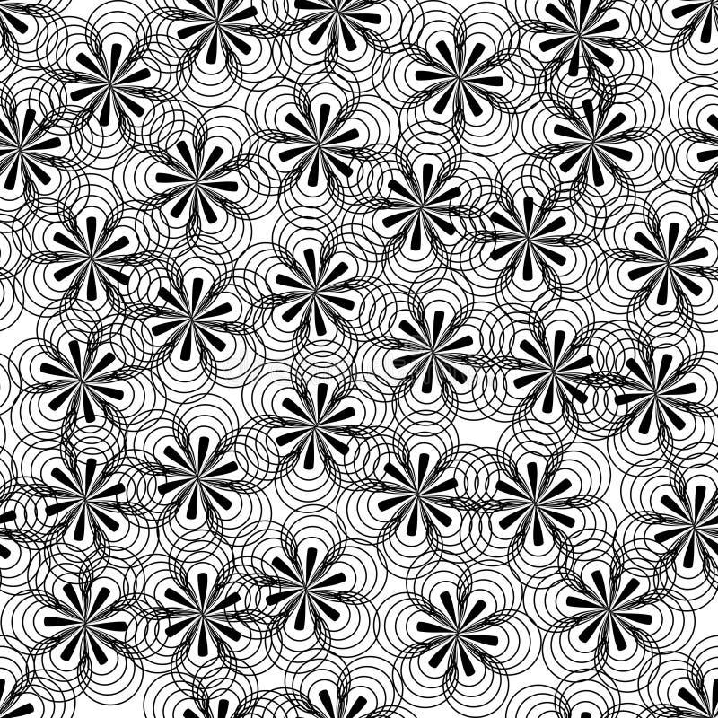 Fundo abstrato da flor ilustração stock