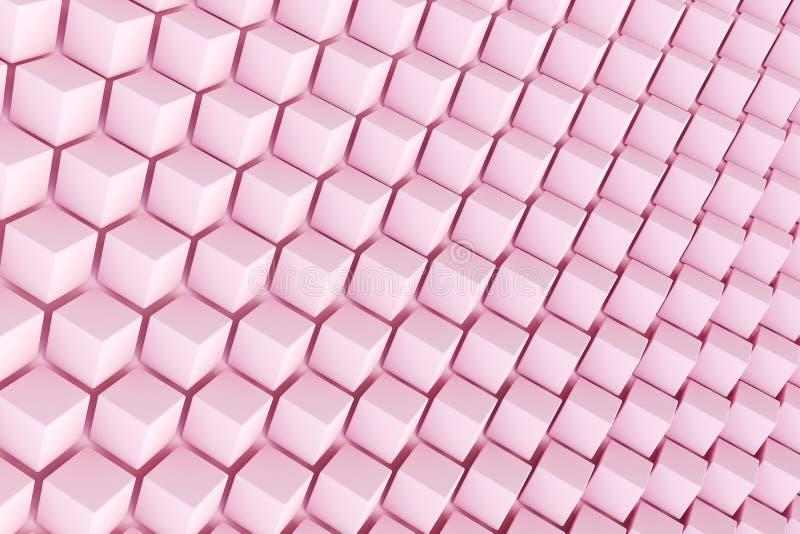 Fundo abstrato da forma poligonal fotos de stock