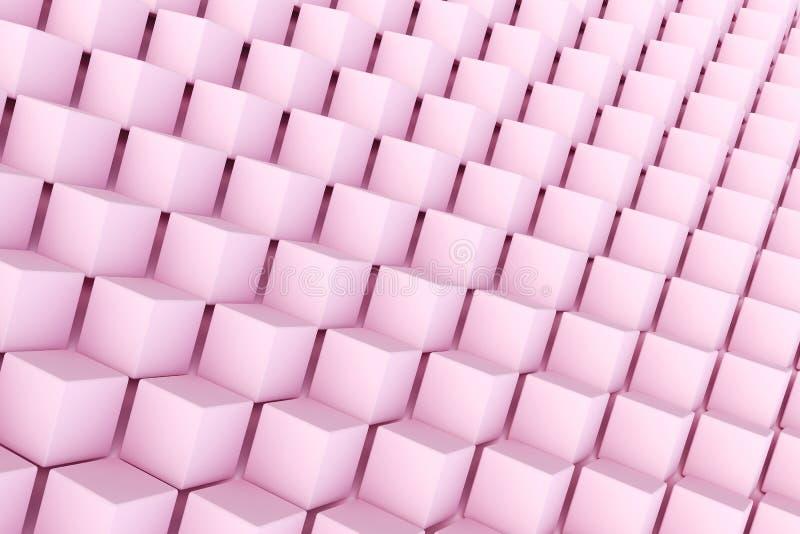 Fundo abstrato da forma poligonal foto de stock