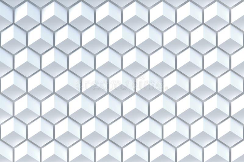 Fundo abstrato da forma poligonal imagens de stock royalty free