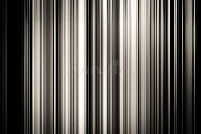Fundo abstrato da linha de cor preto e branco imagens de stock