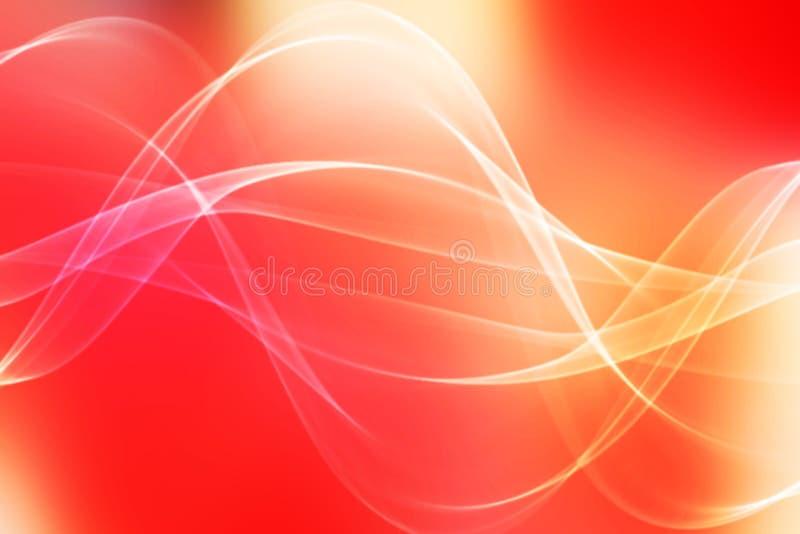 Fundo abstrato da luz vermelha fotografia de stock royalty free