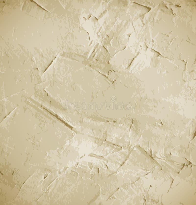 Fundo abstrato da parede do grunge ilustração stock