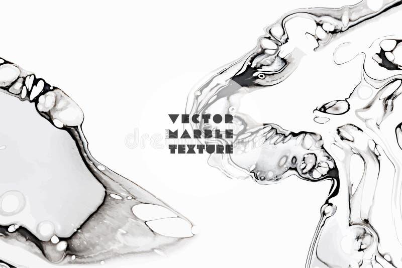 Fundo abstrato da pintura para pap?is de parede, cartazes, cart?es, convites, Web site Efeito Marbleized arte finala moderna ilustração do vetor