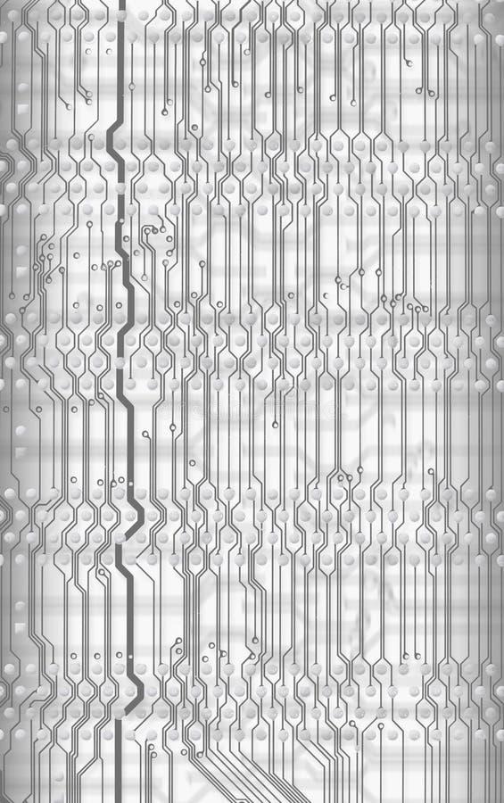 Fundo abstrato da placa de circuito no estilo alta tecnologia foto de stock