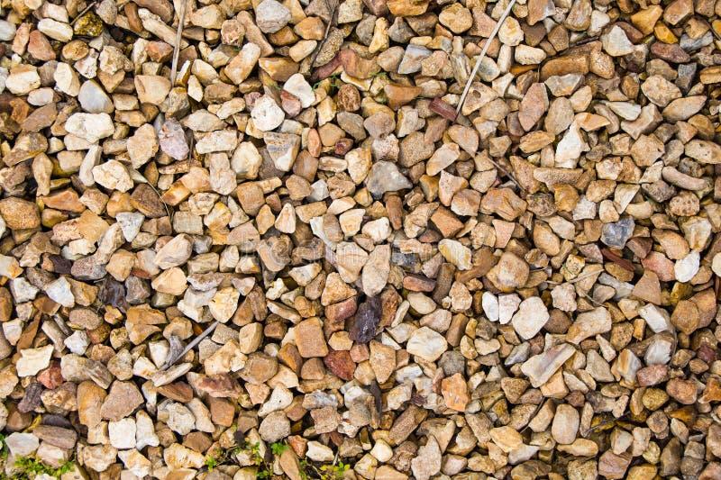 Fundo abstrato da rocha e do seixo imagem de stock