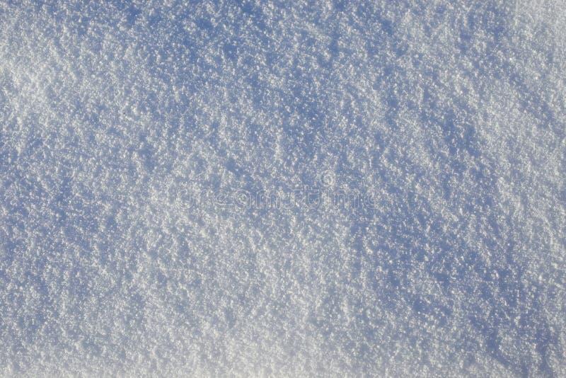 Fundo abstrato da superfície da neve fotos de stock royalty free