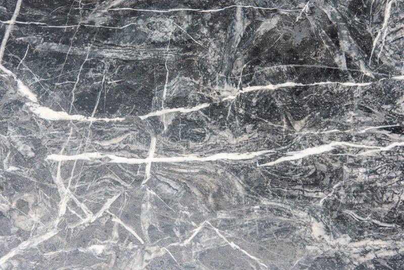 Fundo abstrato da textura de mármore preto e branco da superfície do granito imagens de stock