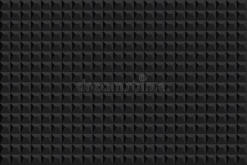Fundo abstrato da textura Teste padrão sem emenda Fundo do vetor textura preta Teste padrão moderno gráfico ilustração royalty free