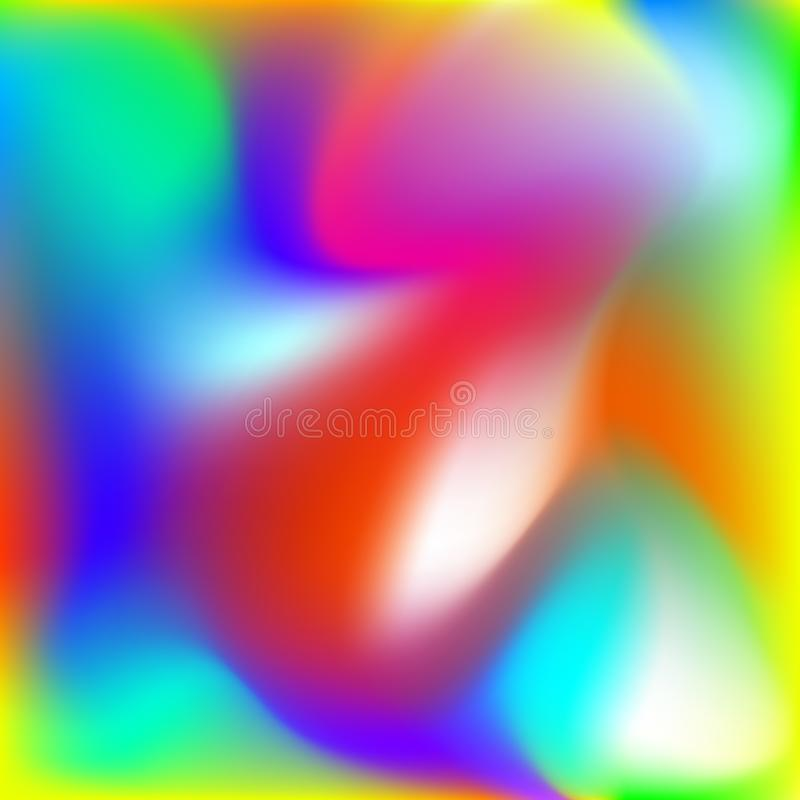Fundo abstrato da torção, inclinação borrado da malha do arco-íris, teste padrão liso para você apresentação, papel de parede do  ilustração do vetor