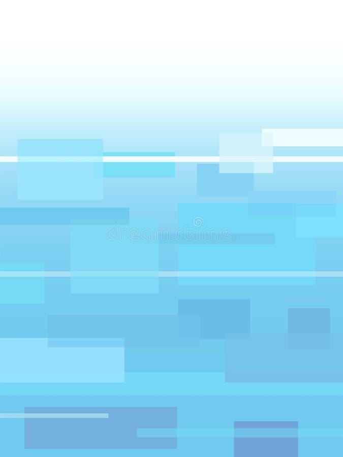 Fundo abstrato das caixas do retângulo ilustração do vetor